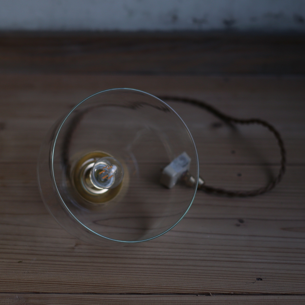 吹きガラス/再生ガラス/ペンダントライト/ランプシェード/間接照明/おしゃれ/かわいい/シンプル