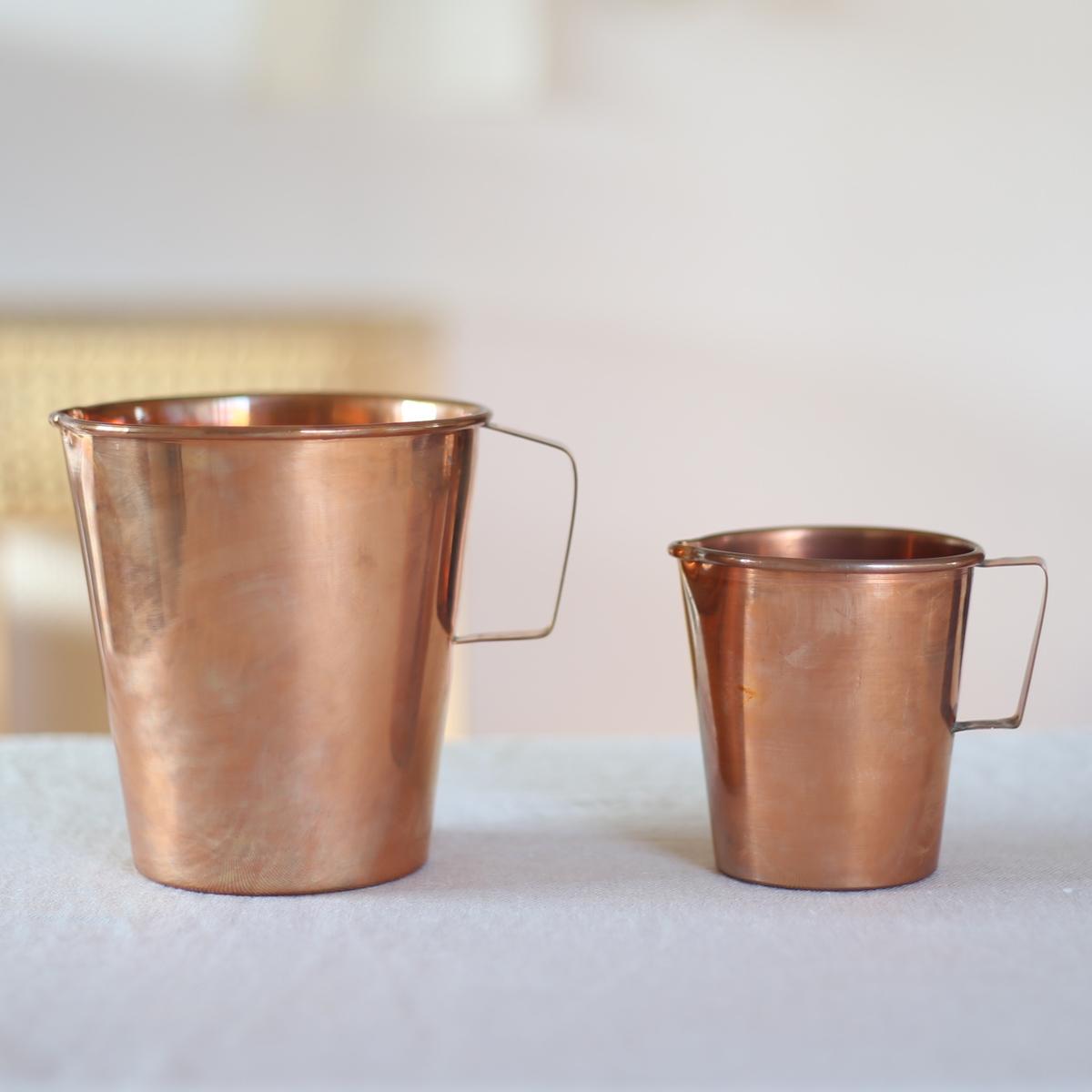 インドの銅のピッチャー おしゃれ かわいい カップ