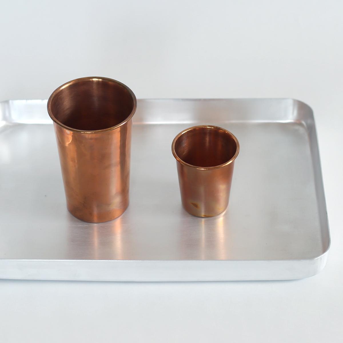 インドの銅のカップ おしゃれ かわいい カップ