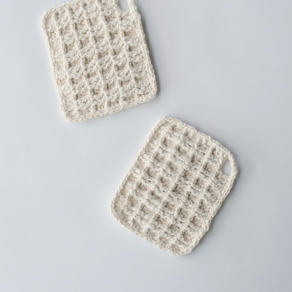 ガラ紡 食器洗い スポンジ オーガニックコットン