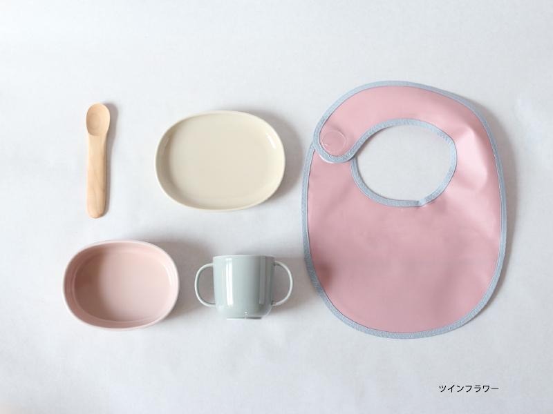 出産祝いに人気の波佐見焼のおしゃれなベビー用食器セット NUPPU