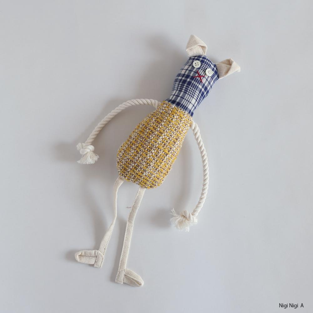 スノアンドモリソン/ガラ紡/ニギニギ/ぬいぐるみ/おもちゃ/オーガニックコットン/出産祝い/ギフト