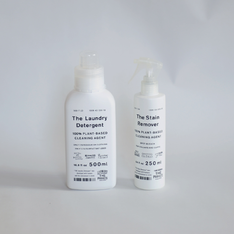 THE洗濯洗剤1本とTHE STAIN REMOVER(衣類用漂白剤)のセット