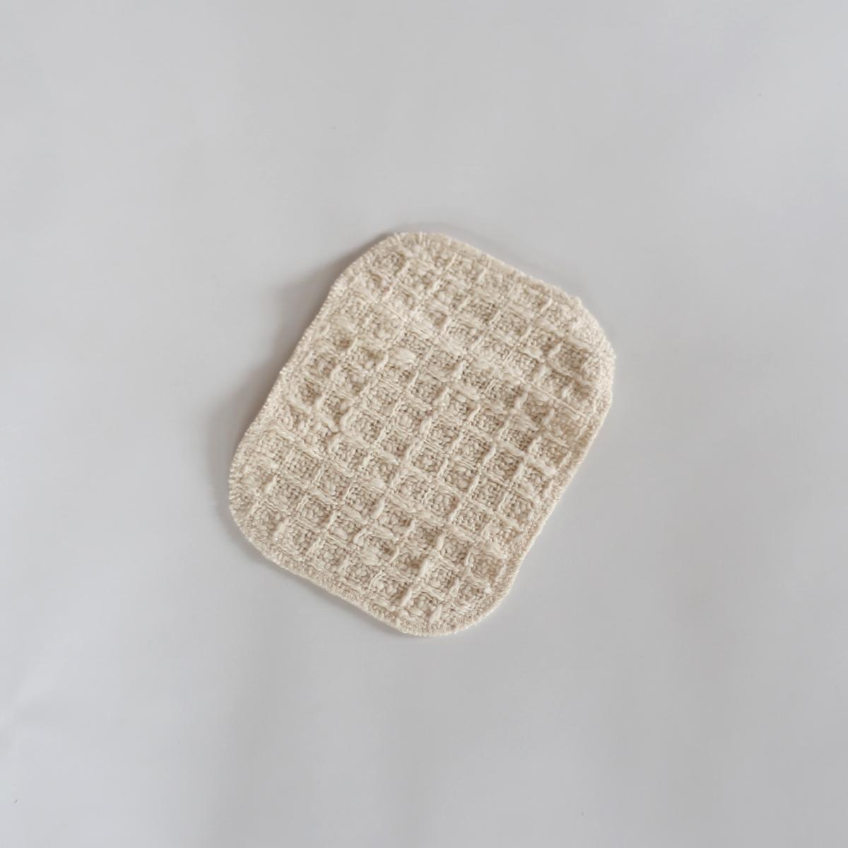 食器洗いや身体洗いに。ガラ紡のウォッシュパッド